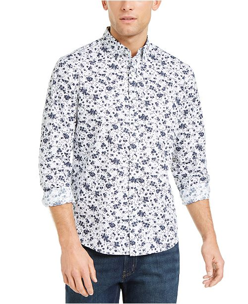 Michael Kors Men's Midnight Floral Shirt