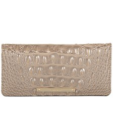 Ady Melbourne Croc Embossed Leather Wallet