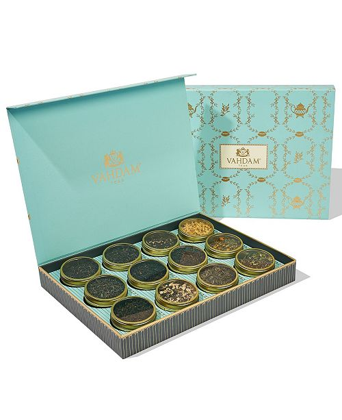 Vahdam Teas Bloom, Tea Assortment, Gift Set, 12 Teas