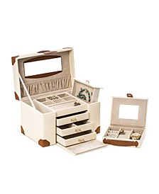 4 Level Multi Compartment Jewelry Box