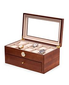 20 Watch Box with Quartz Movement Clock
