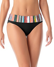 Sand Striped Bikini Bottoms