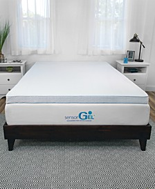 Sensor Gel Arctic 3-Inch Memory Foam Bed Topper - Queen
