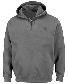 Men's Big & Tall Quarter-Zip Hoodie