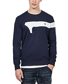 Men's Geometric Logo Sweatshirt, Created For Macy's