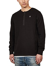 Men's Four-Button Henley, Created For Macy's