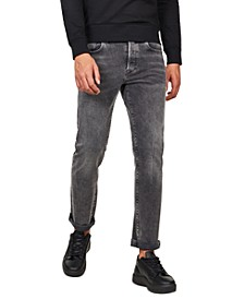 Men's 3301 Straight Stretch Jeans, Created for Macy's