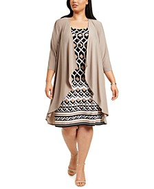 Plus Size Jacket Dress