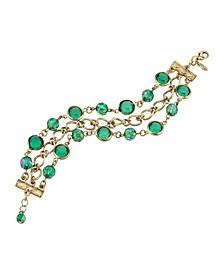 Gold-Tone Chain Link Bracelet