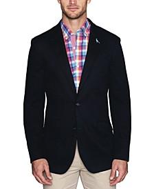 Men's Stretch Diamond Textured Sport Coat