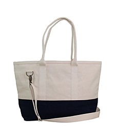 Color Block Utility Tote