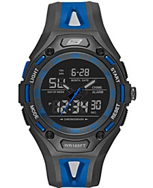 Men's Liberty Plastic Strap Watch 47mm