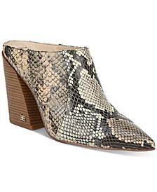 Sam Edleman Reverie Heeled Mules
