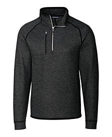 Men's Big and Tall Mainsail Half Zip Sweater