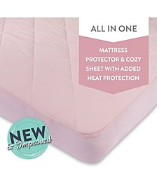 Water Resistant Quilted Playard Pack N Play Sheet with Heat Protection