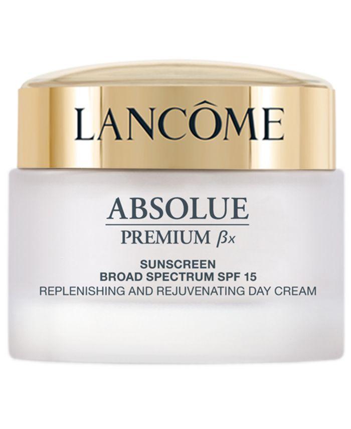 Lancôme Absolue Premium Bx SPF 15 Moisturizer Cream and Sunscreen Lotion, 1.7 oz. & Reviews - Skin Care - Beauty - Macy's