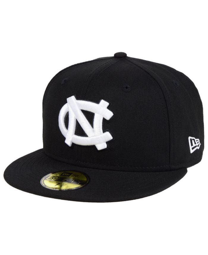 New Era North Carolina Tar Heels Core Black White 59FIFTY Fitted Cap & Reviews - Sports Fan Shop By Lids - Men - Macy's