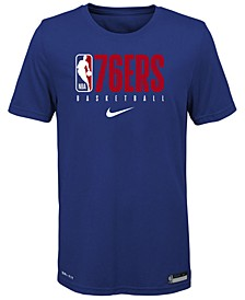 Big Boys Philadelphia 76ers Practice T-Shirt