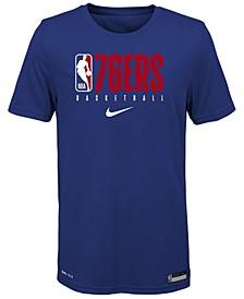 Big Boys Philadelphia 76ers Practice T-Shirt