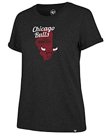 Women's Chicago Bulls Local Match Tri-Blend T-Shirt