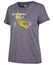 Women's Los Angeles Lakers Local Match Tri-Blend T-Shirt