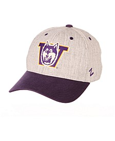 Washington Huskies Oxford Flex Stretch Fitted Cap