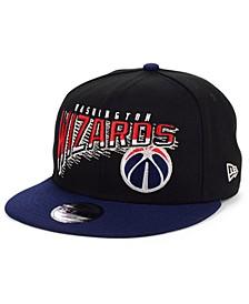 Big Boys Washington Wizards Whammy 2.0 9FIFTY Snapback Cap