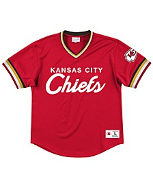Men's Kansas City Chiefs Special Script Mesh V-Neck Top