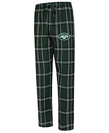 Men's New York Jets Hillstone Flannel Pants