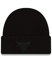 Chicago Bulls Blackout Knit Hat