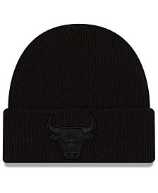 Chicago Bulls Blackout Knit Hat