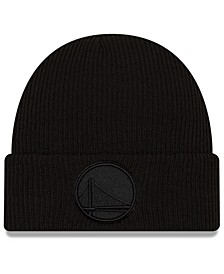 Golden State Warriors Blackout Knit Hat