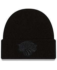 New York Knicks Blackout Knit Hat