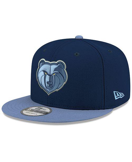 New Era Boys' Memphis Grizzlies Basic 9FIFTY Snapback Cap