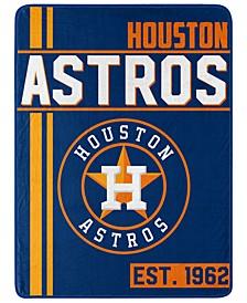 Houston Astros Micro Raschel Walk Off Throw Blanket
