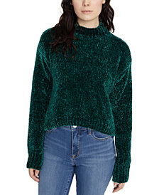 Sanctuary Chenille Mock-Neck Sweater