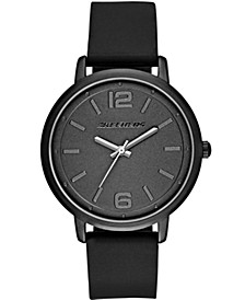 Women's Silicone Strap Watch 36mm