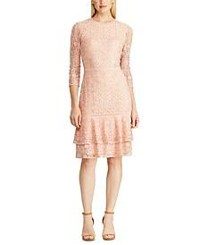 Lace Drop-Waist Dress