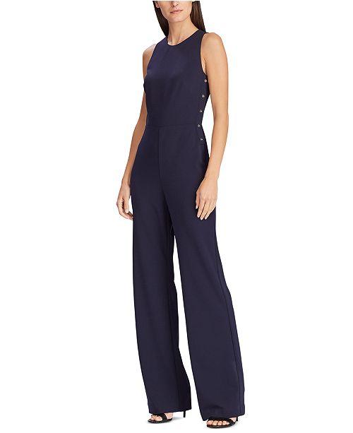 Lauren Ralph Lauren Jersey Wide-Leg Jumpsuit