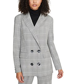 The Boss Lady Oxford Plaid Jacket