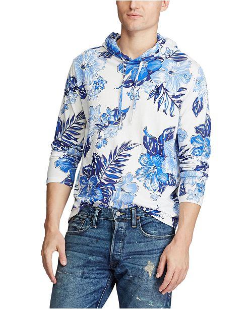 Polo Ralph Lauren Men's Floral Jersey Hooded T-Shirt