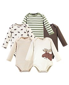 Baby Boy Bodysuits, 5 Pack