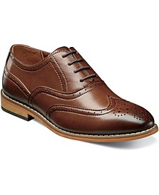 Big Boy Dunbar Wingtip Oxford Shoe
