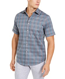 Men's Stretch Stripe Dobby Shirt, Created for Macy's