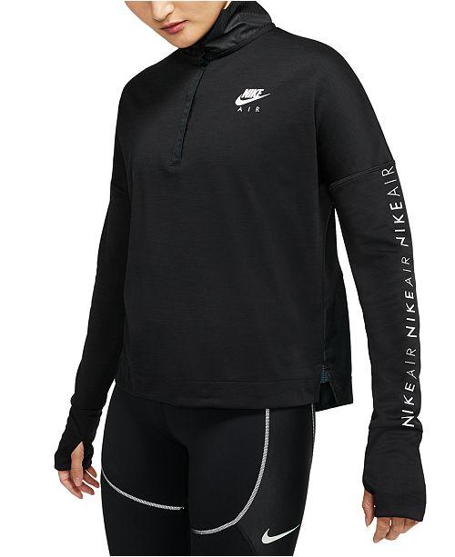 Nike Women's Air Half-Zip Running Top