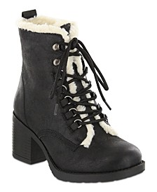 Lars Lace-Up Booties
