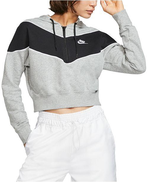 Women's Sportswear Heritage Half Zip Hoodie