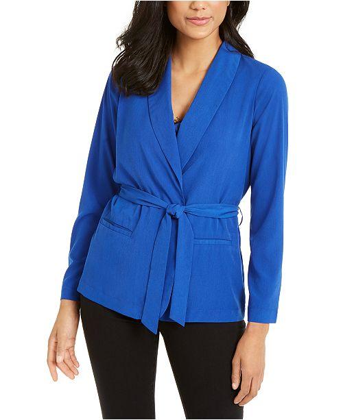 Thalia Sodi Belted Blazer, Created for Macy's