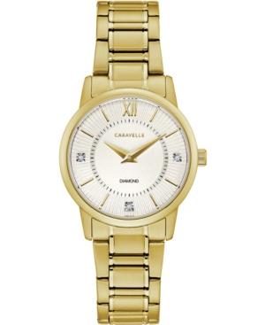 Women's Gold-Tone Stainless Steel Bracelet Watch 30mm