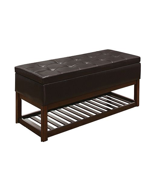 Homelegance Jaunt Bench, Quick Ship